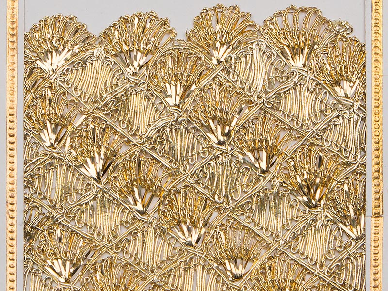 High-quality products from the processing of silver- and gold braid